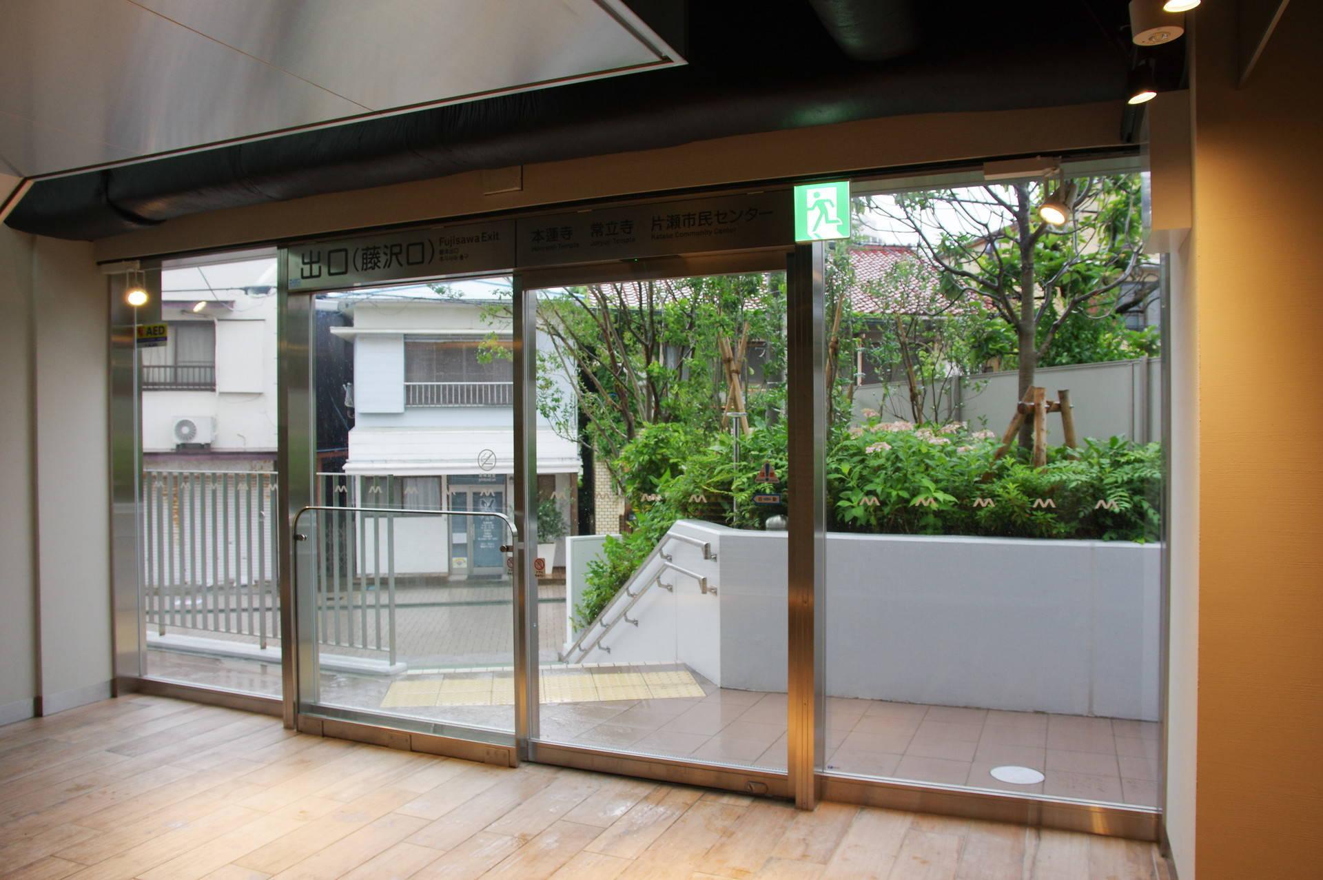 藤沢口のドア
