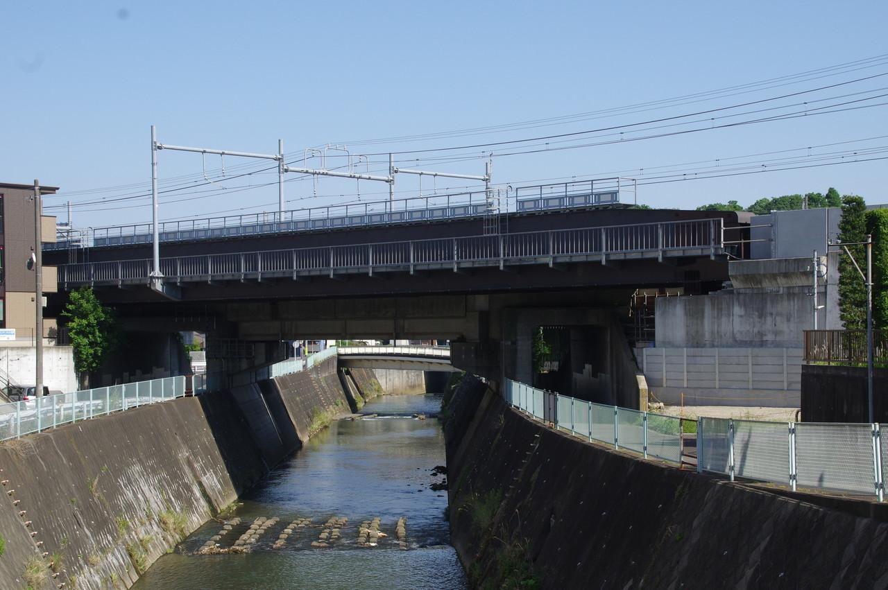 帷子川の橋梁