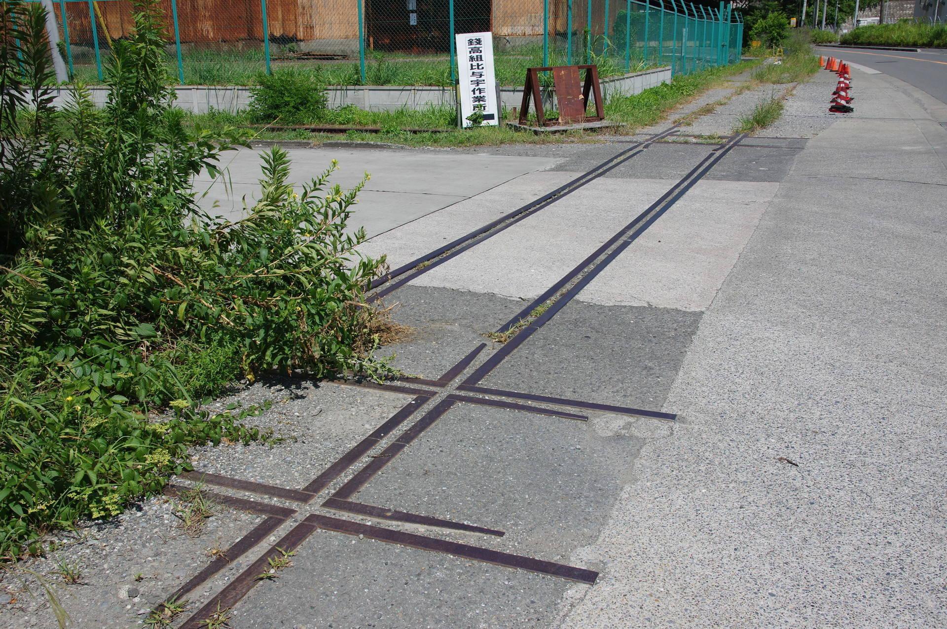 2つ連続して設けられた十字交差(西側)