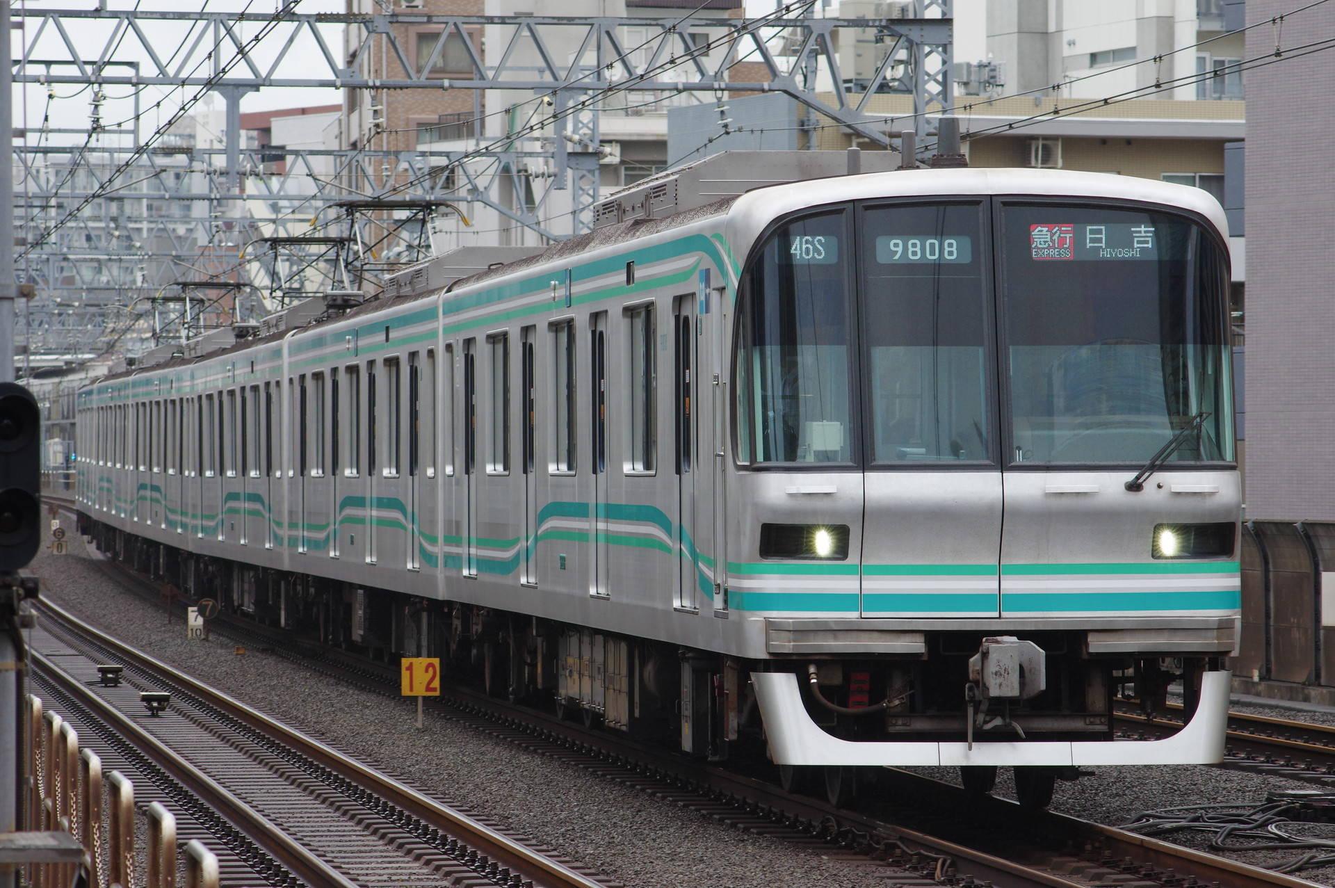 東京メトロ 9000系第08編成(B修車)