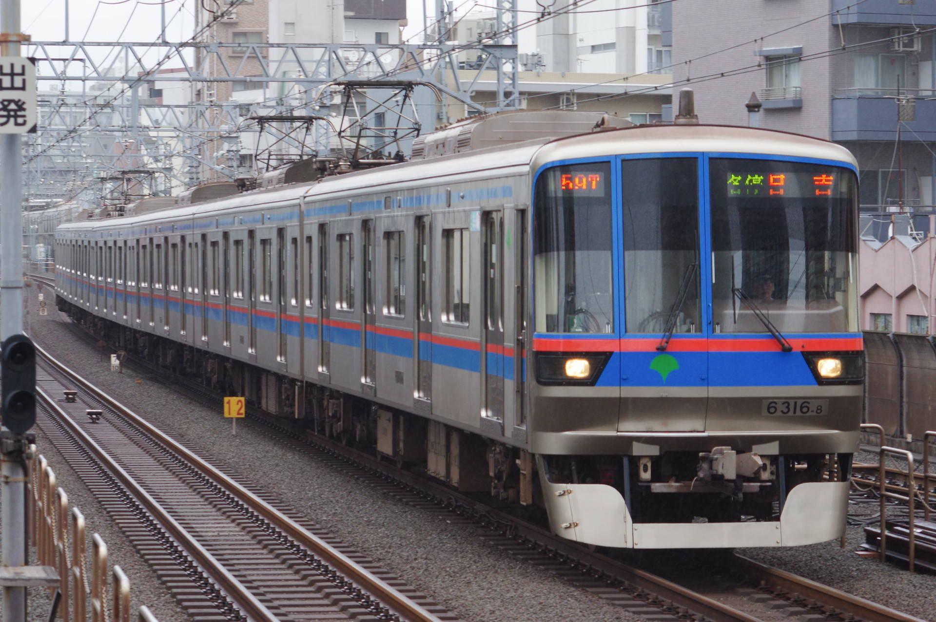 東京都交通局 6300形第16編成