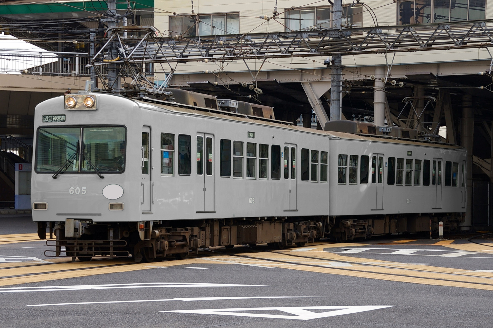 京阪電鉄 600形の色変え用素体