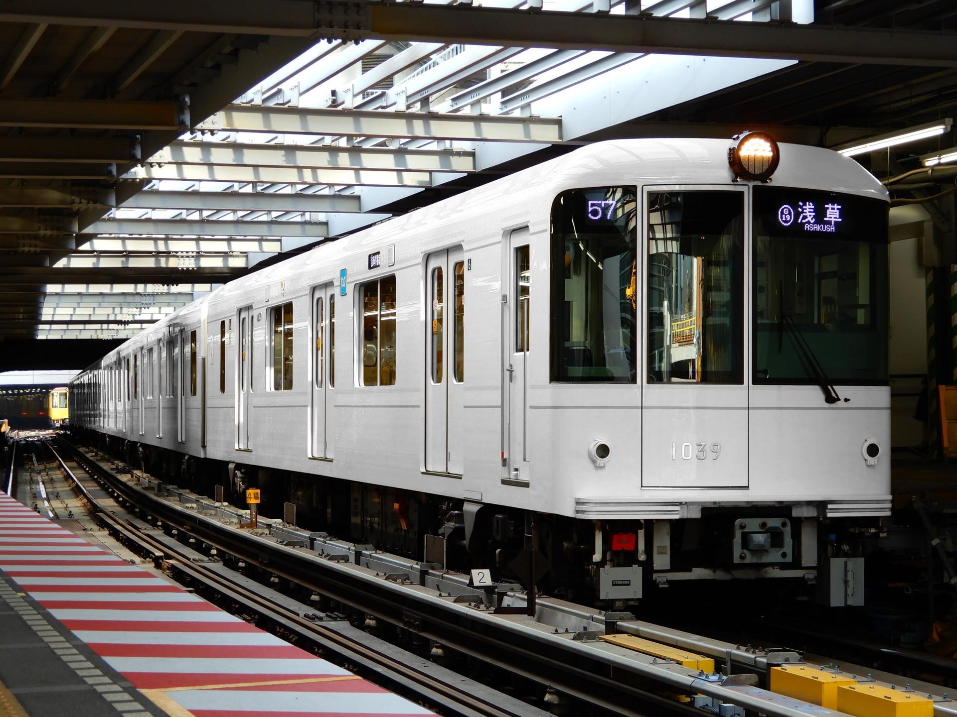 東京メトロ 1000系の色変え用素体
