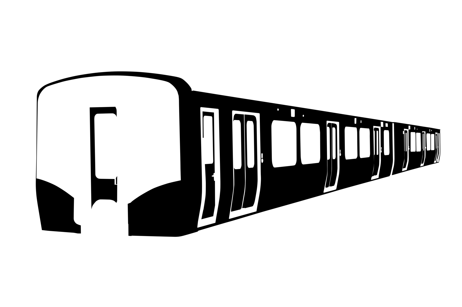 E129系の型紙
