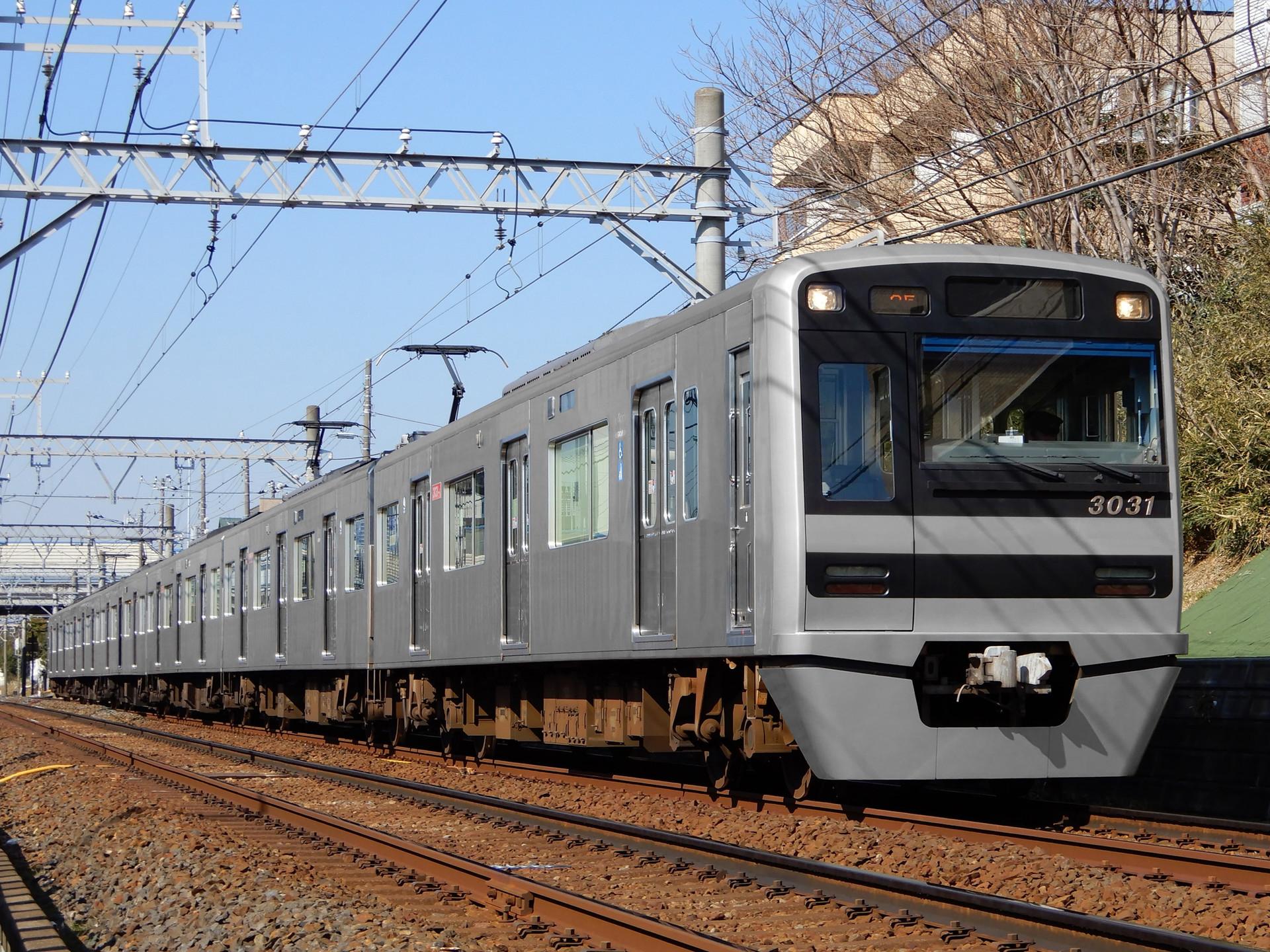 京成電鉄 3000形の色変え用素体