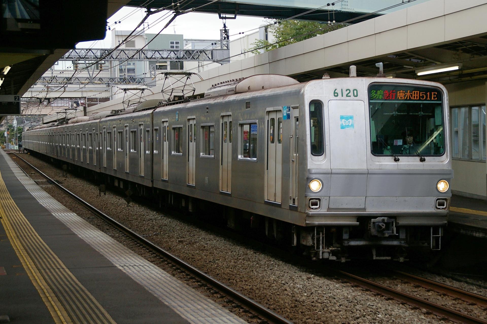 東京メトロ 6000系の色変え用素体