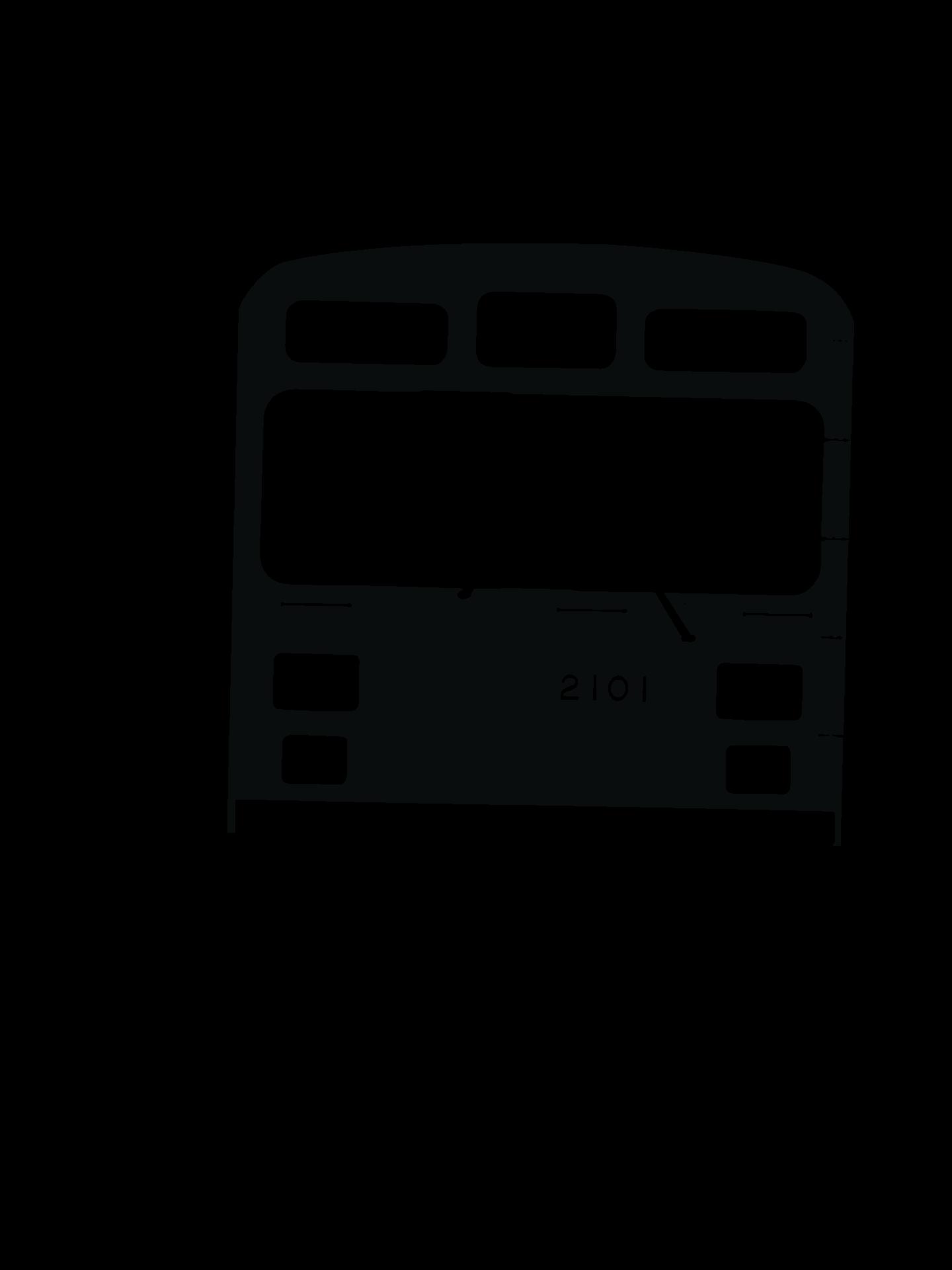 東急電鉄 2000系の型紙
