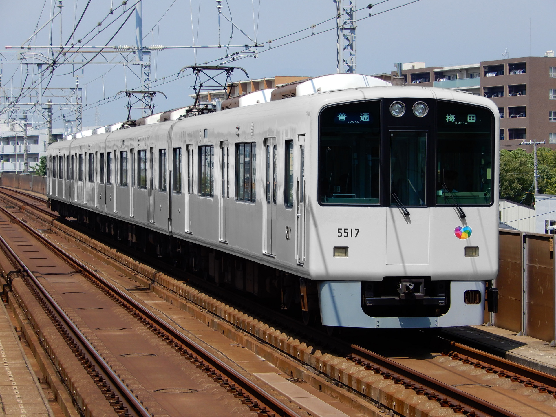 阪神電鉄 5500形の色変え用素体