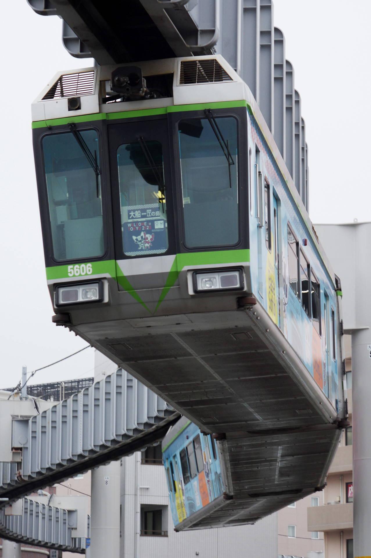5000系5605編成 「TOKYO2020 湘南ラッピングトレイン」