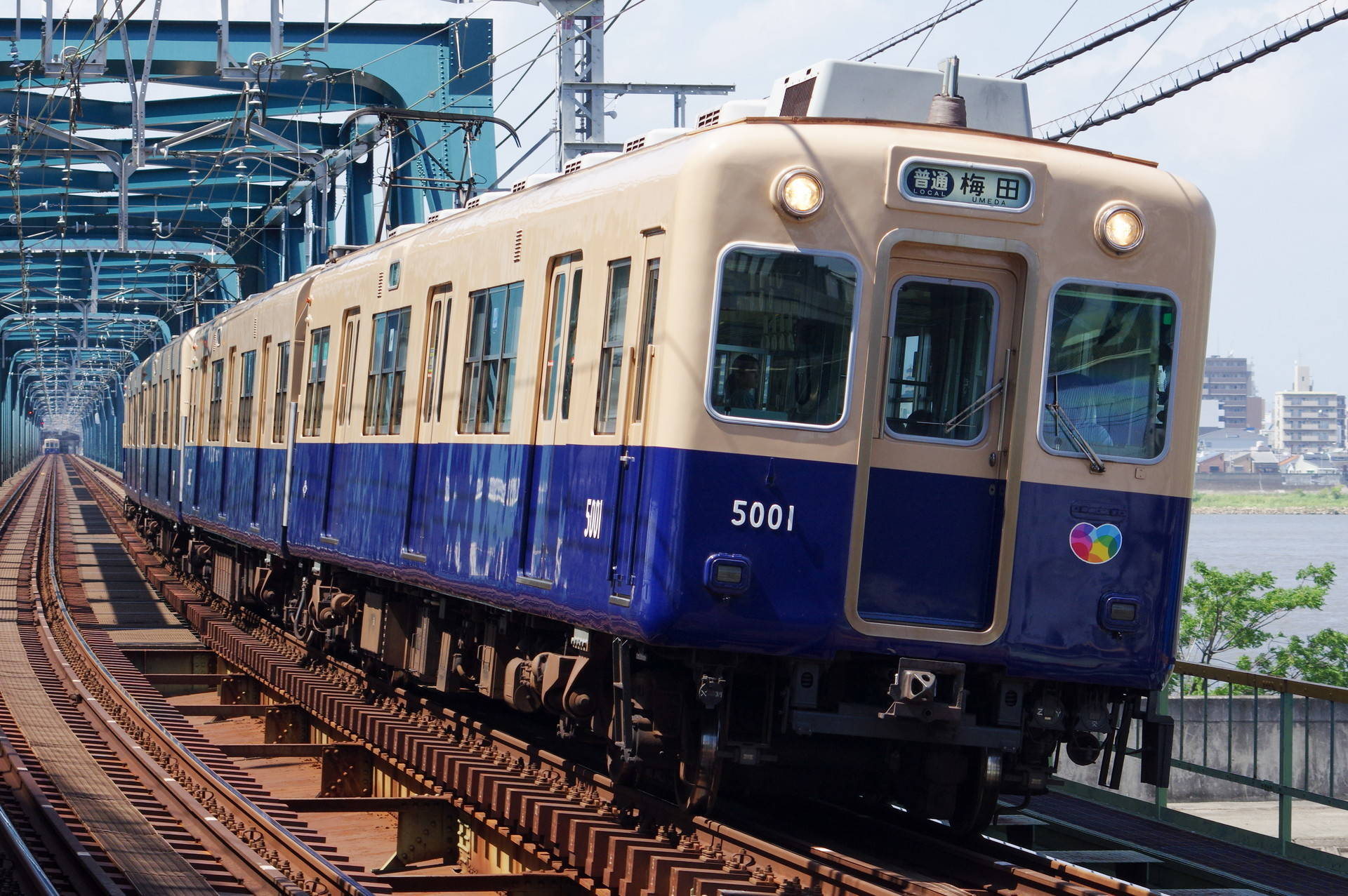 阪神 5001形5001編成 (前照灯未換装)