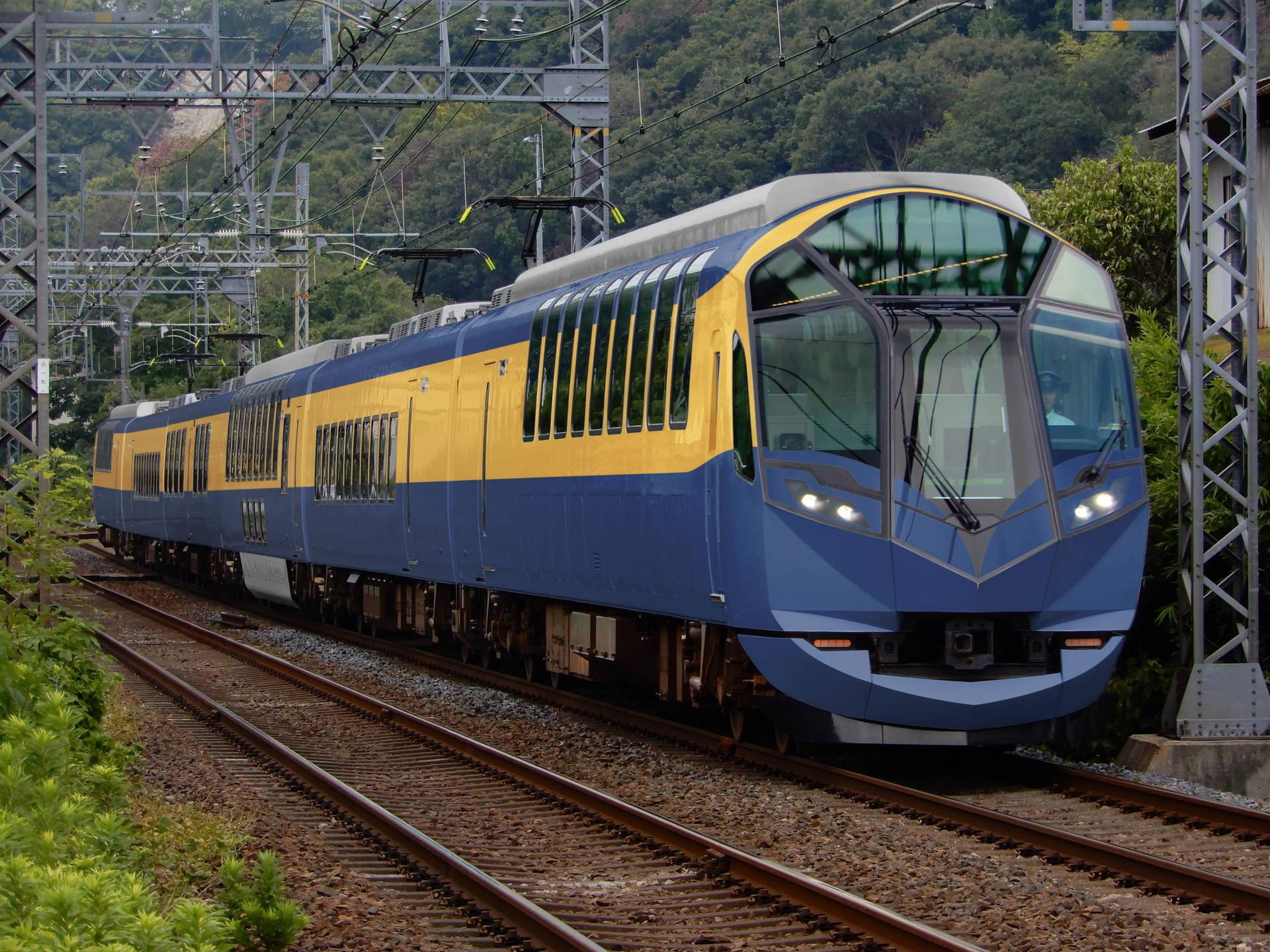 近鉄10000系(初代ビスタカー)色の近鉄50000系(ウソ電)