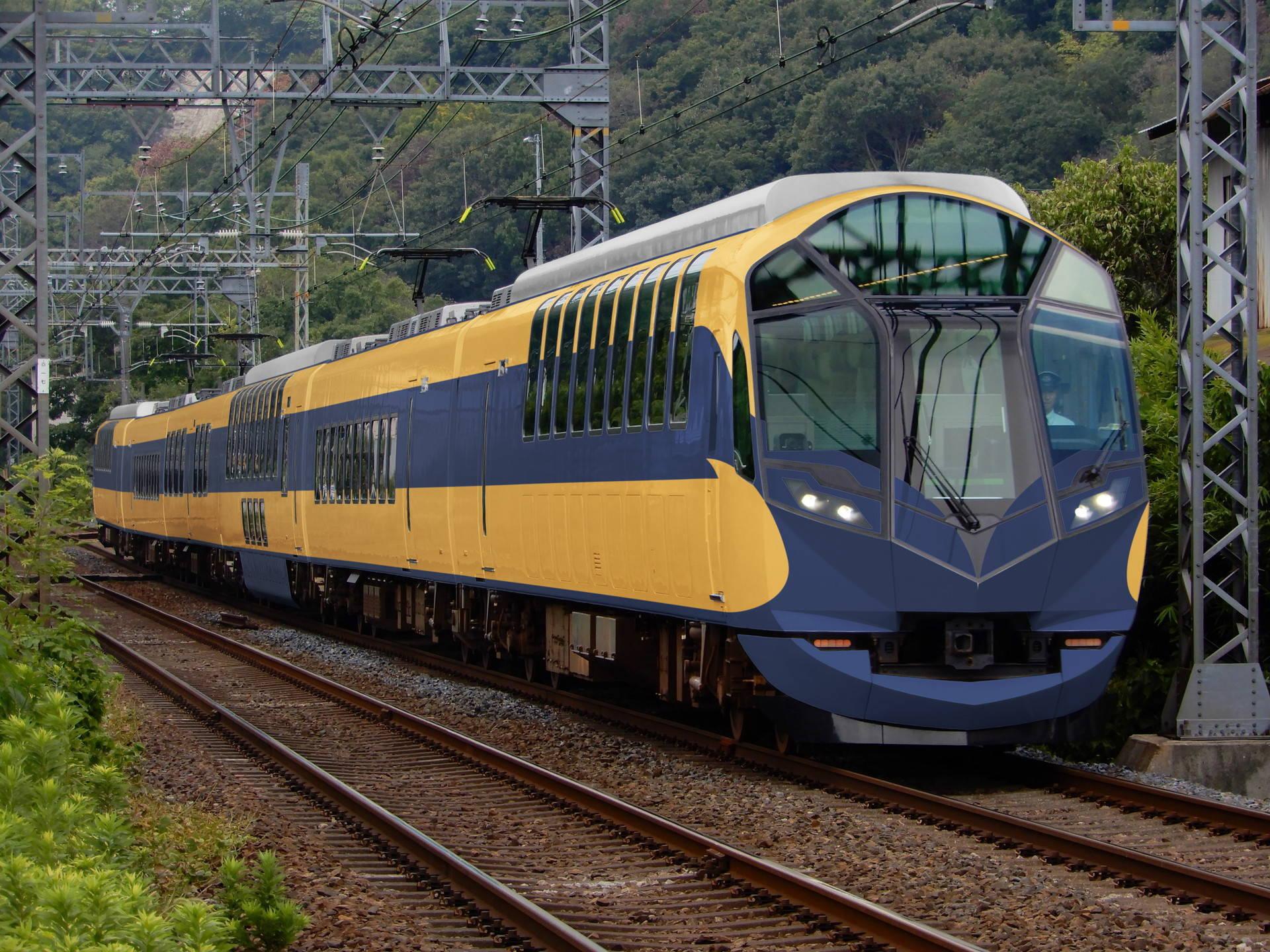 近鉄10100系(2代目ビスタカー)色の近鉄50000系(ウソ電)