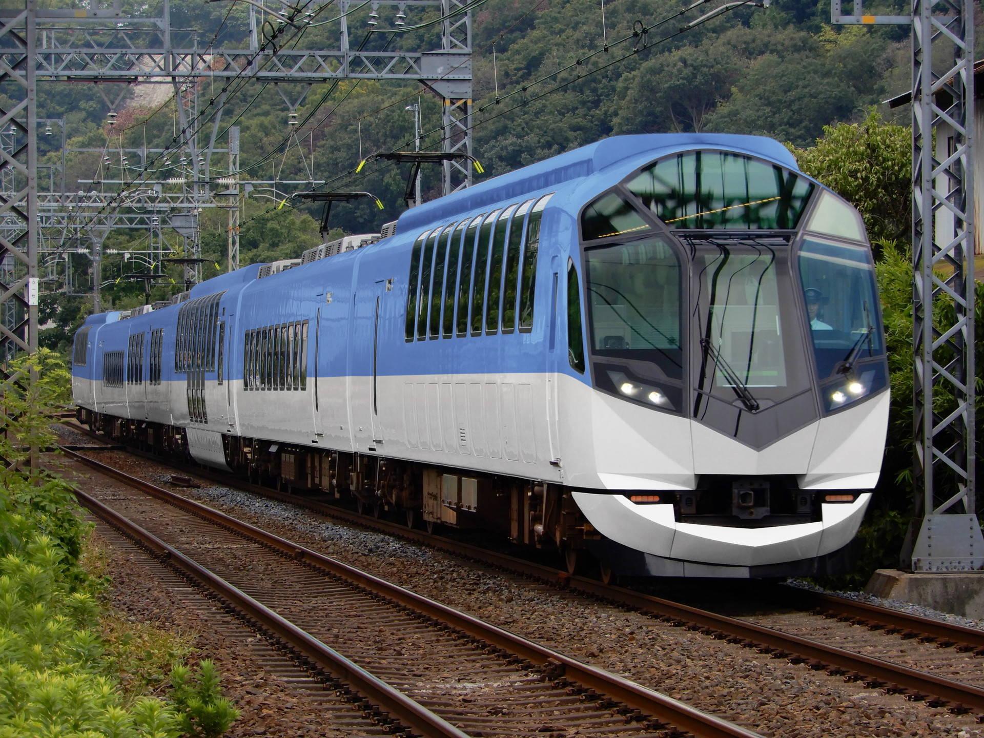 近鉄50000系の初期デザインイメージ再現(ウソ電)