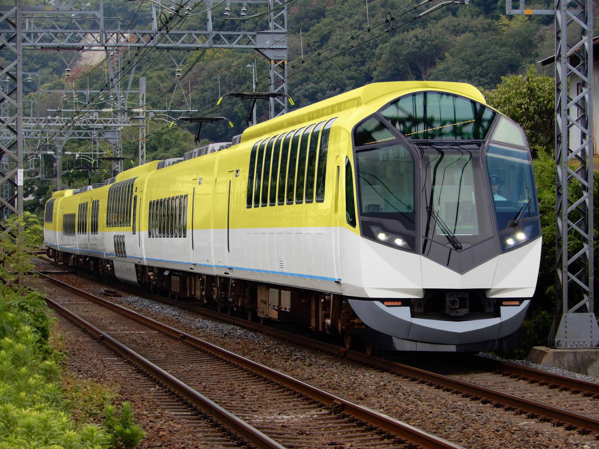 伊勢志摩ライナー旧塗色の近鉄50000系(ウソ電)