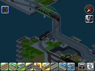 遅れて貨物列車が渡り線を通過