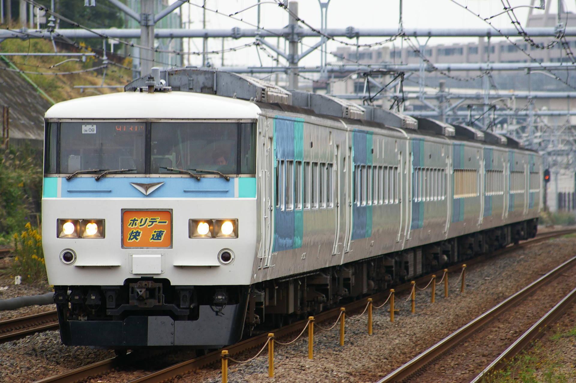 信州ブロック色の185系(ウソ電)