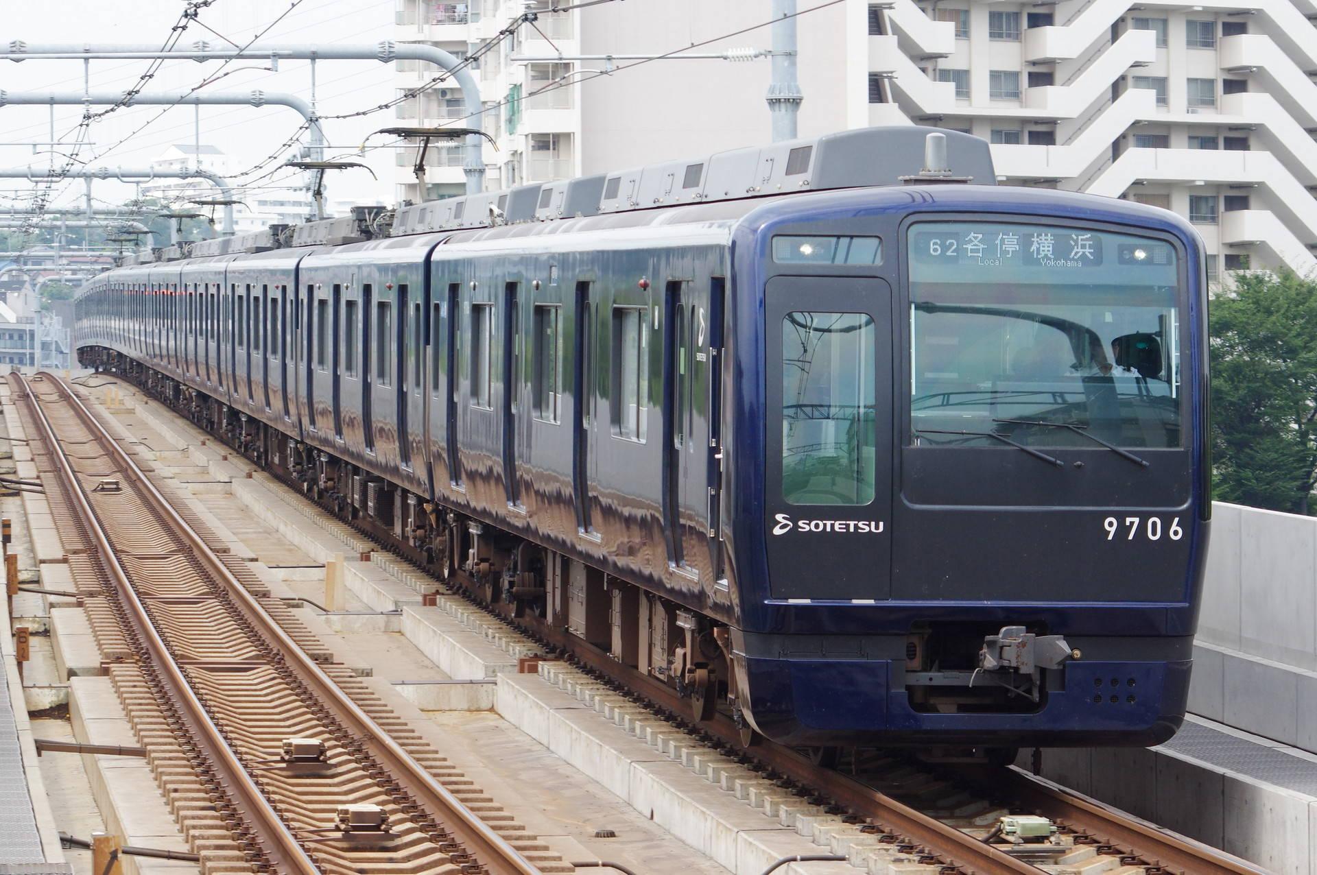 9000系9706編成 (YOKOHAMA NAVYBLUE)