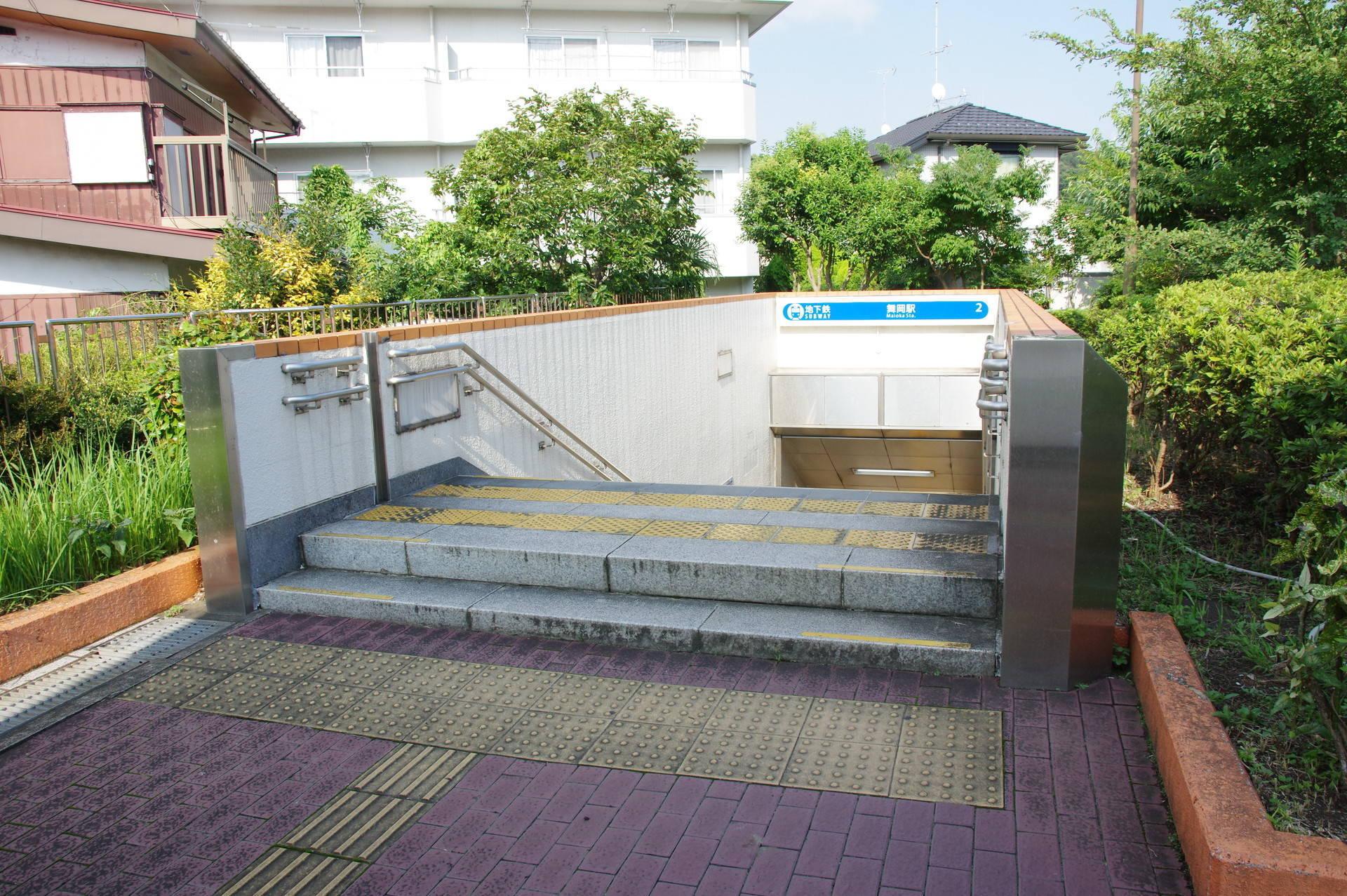 2番出口の階段
