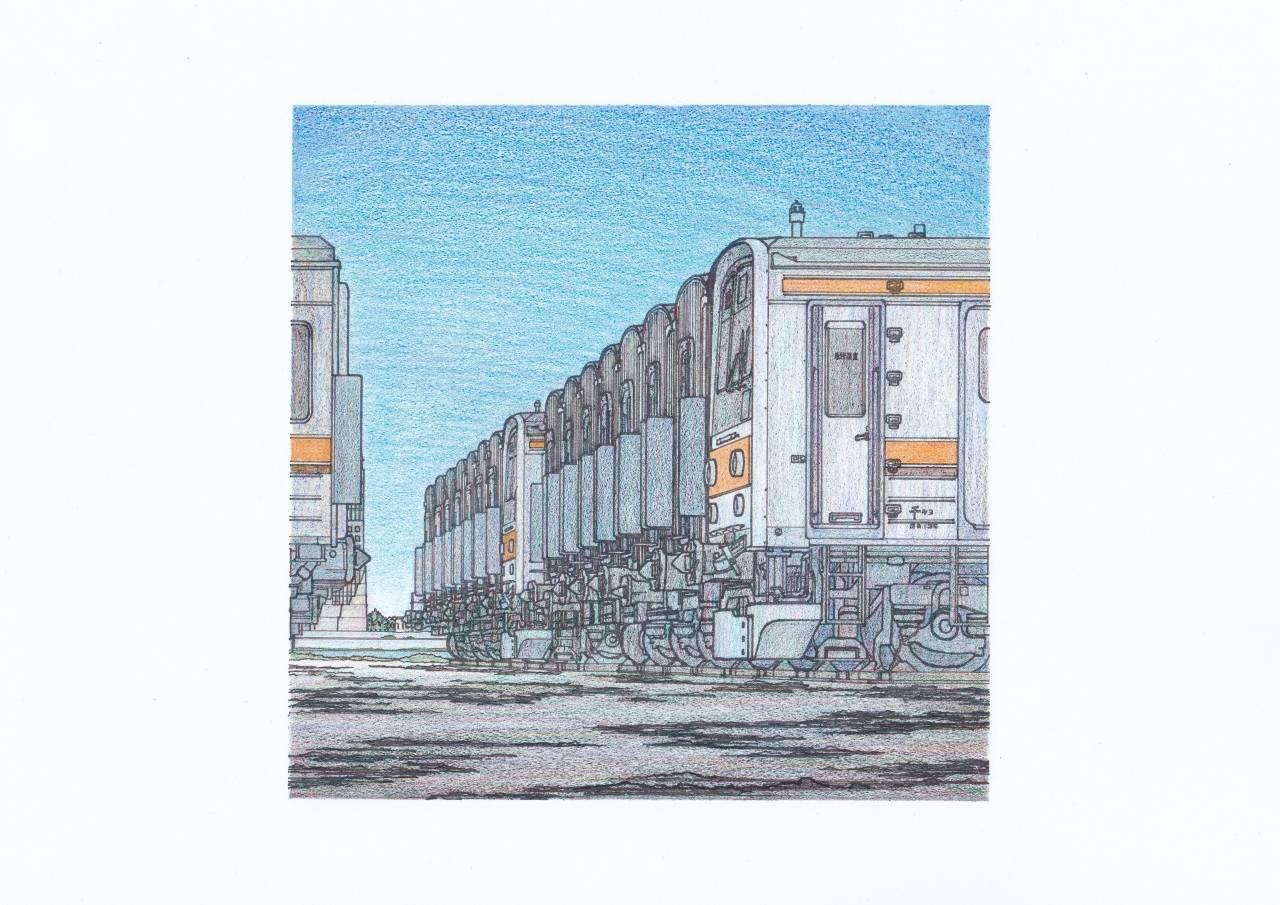 武蔵野線205系のイラスト