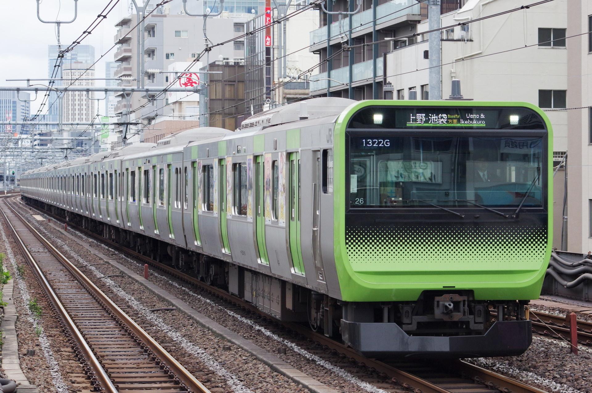E235系 トウ26編成(アズールレーンラッピング)