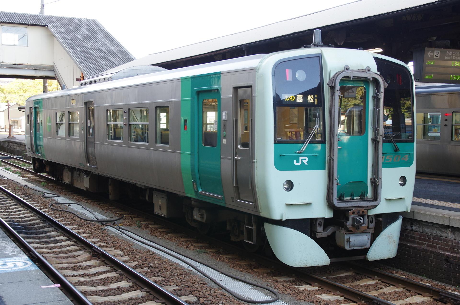 1500形 高松行き(後面側)