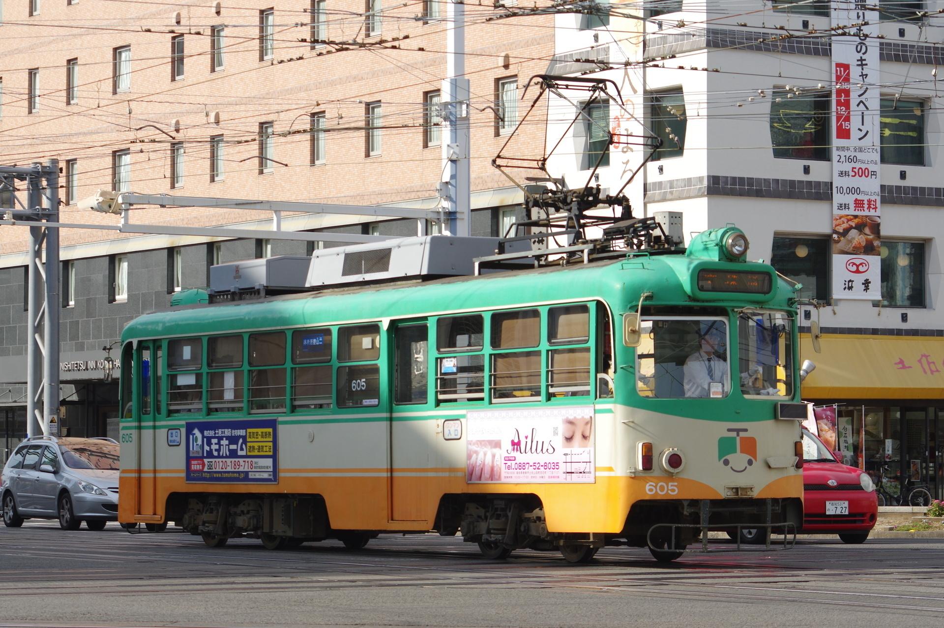 600形605号 (新塗装)