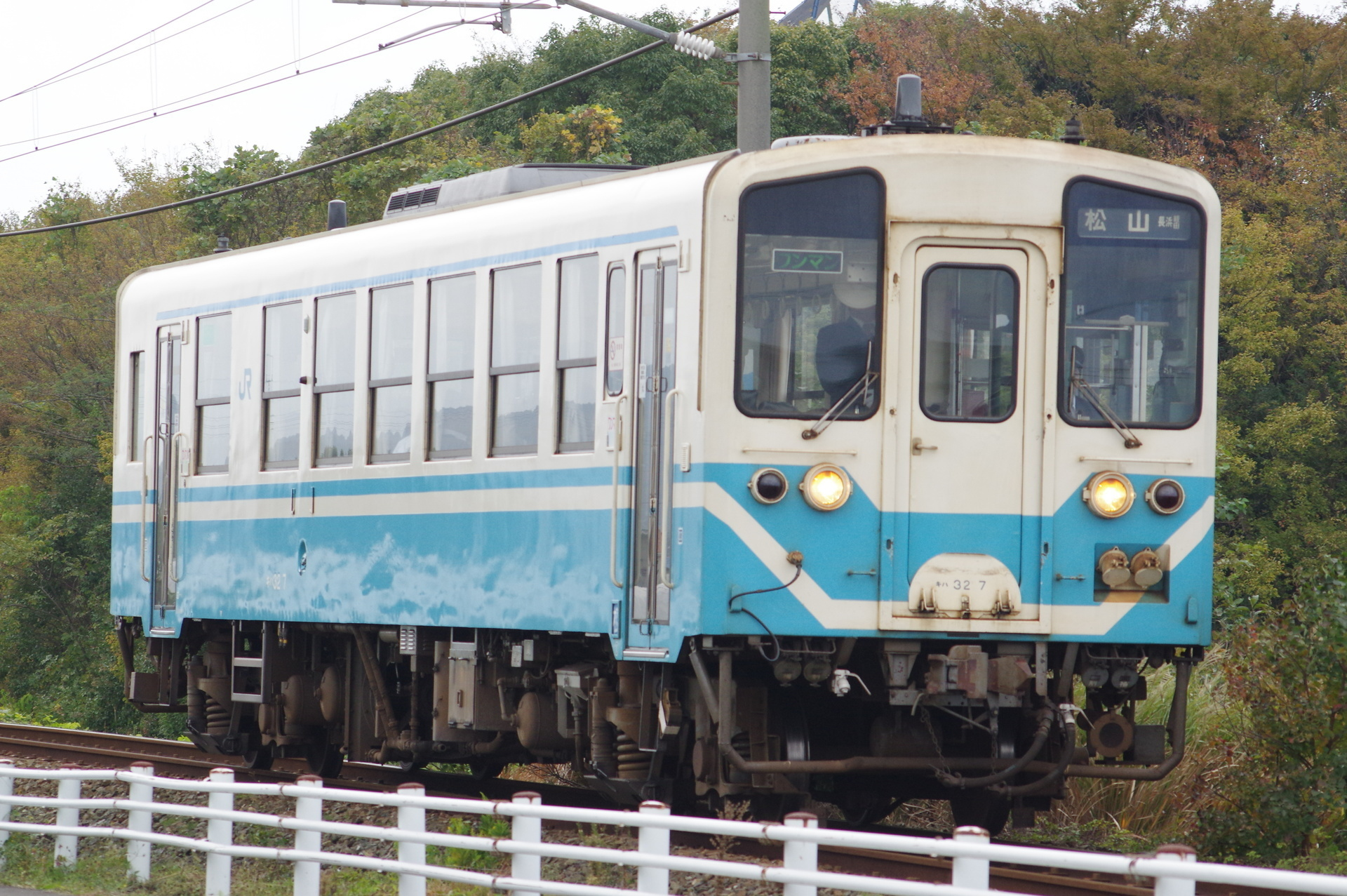 キハ32 7 松山行き(長浜経由)