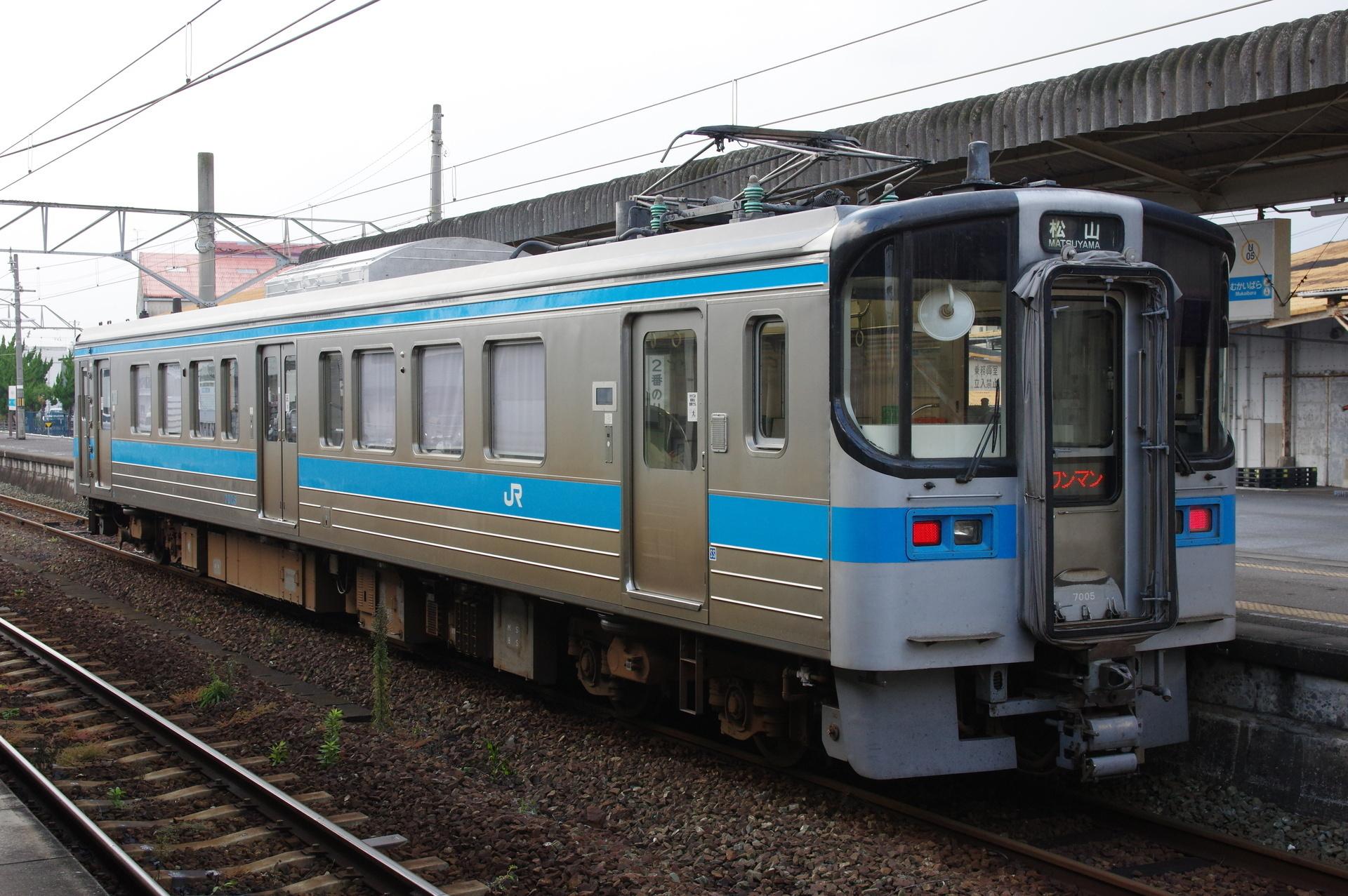 JR四国 7000形(7005)