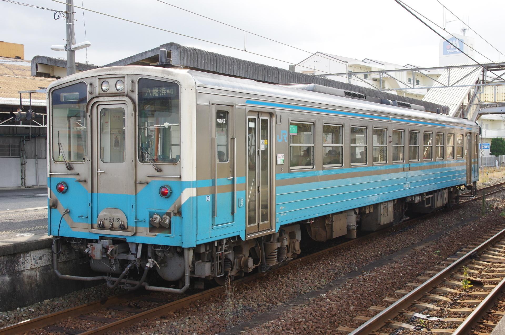 キハ54 12(幌無し側)