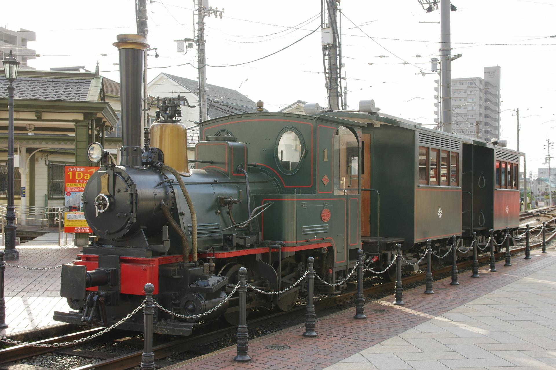 坊ちゃん列車(公式側)