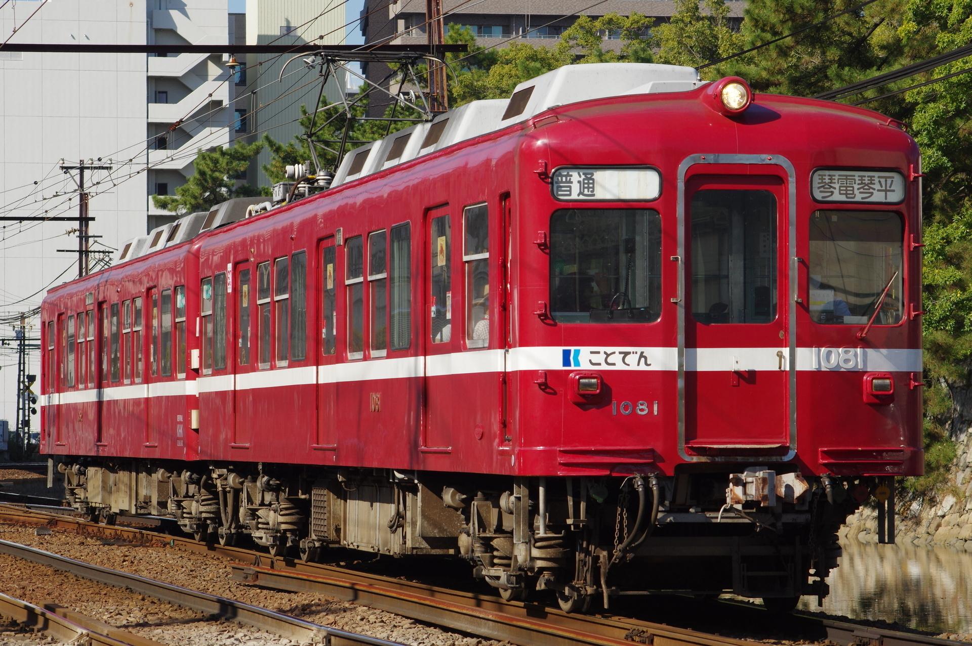 1081編成(還暦の赤い電車)