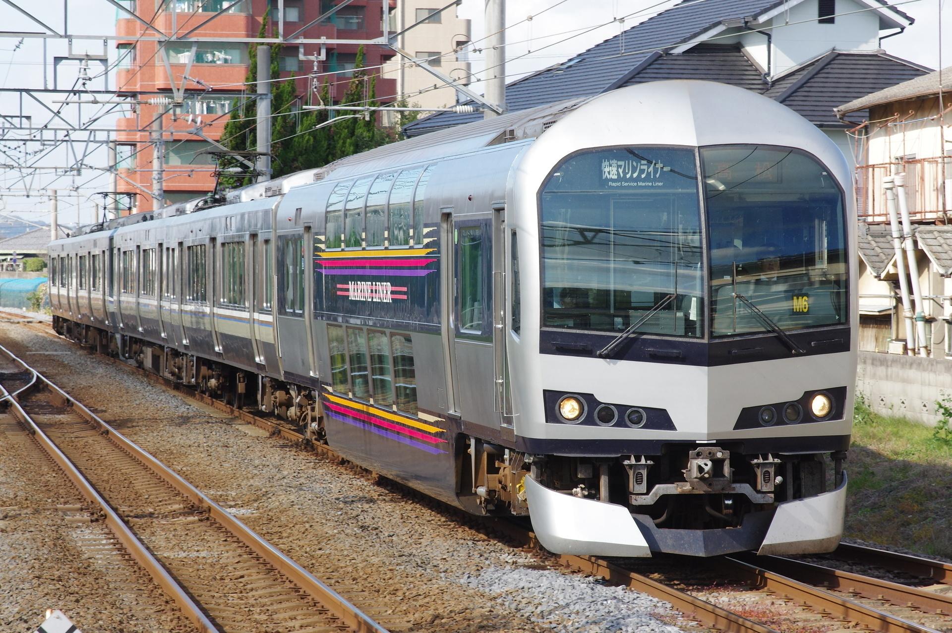 JR四国5000系 M6編成