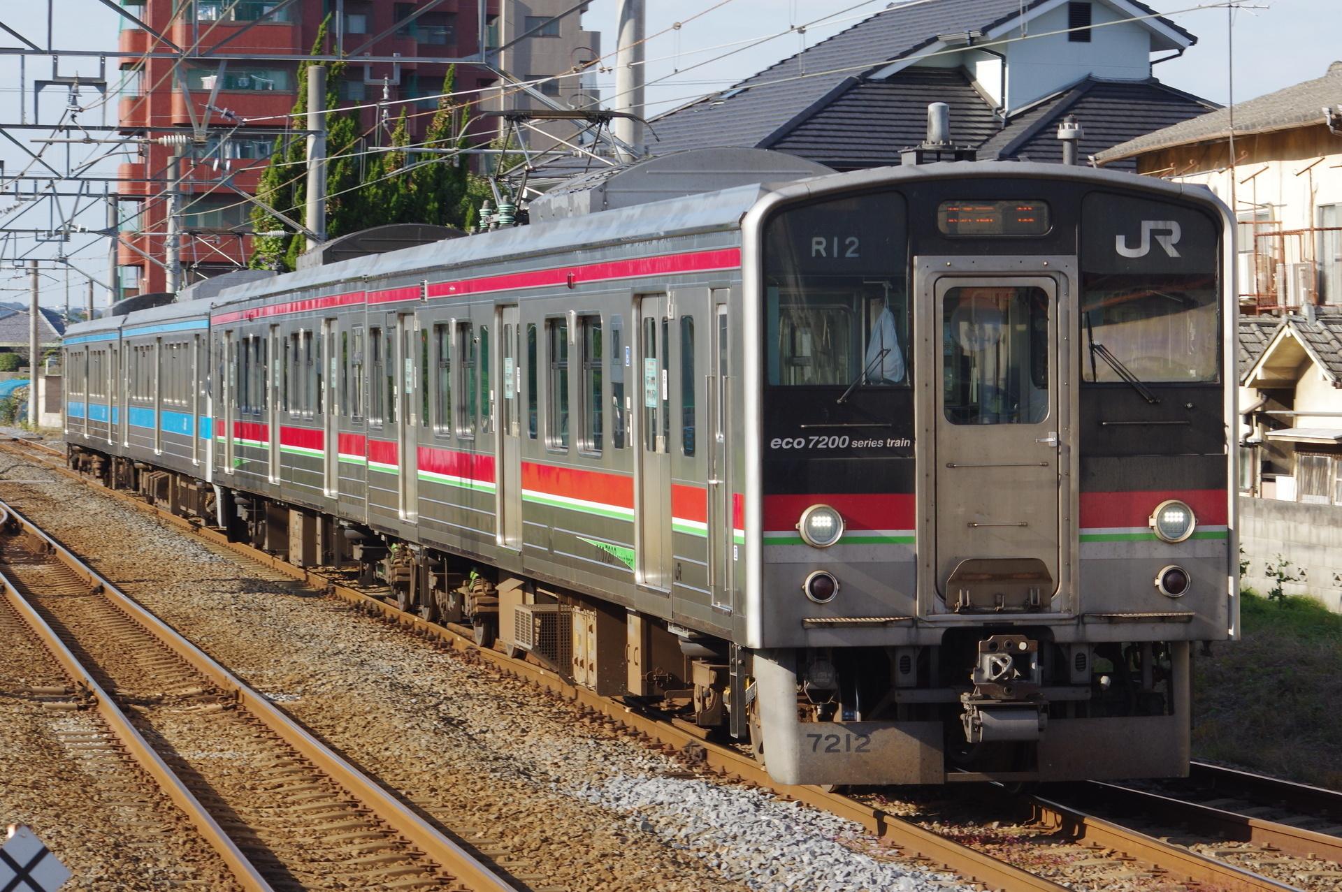 7200系 R12編成・7000形・7100形