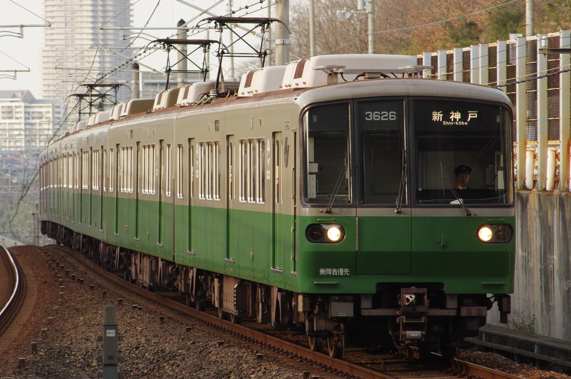 3000形3126編成「市電デザイン列車」