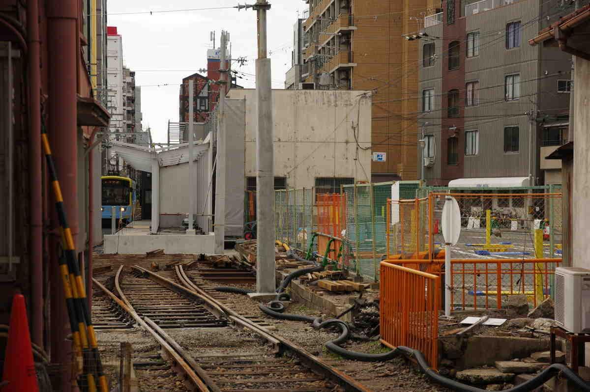 工事中の新駅
