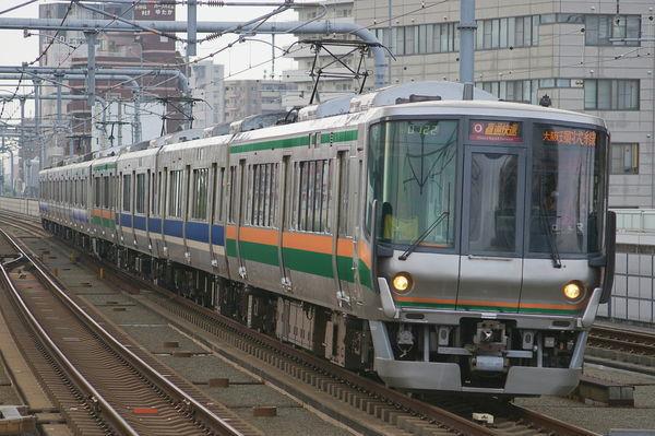 阪和線223・225系の混色編成(ウソ電)