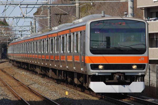 E231系MU6編成(東京五輪ラッピング)