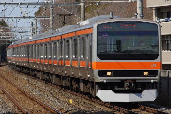 E231系MU16編成