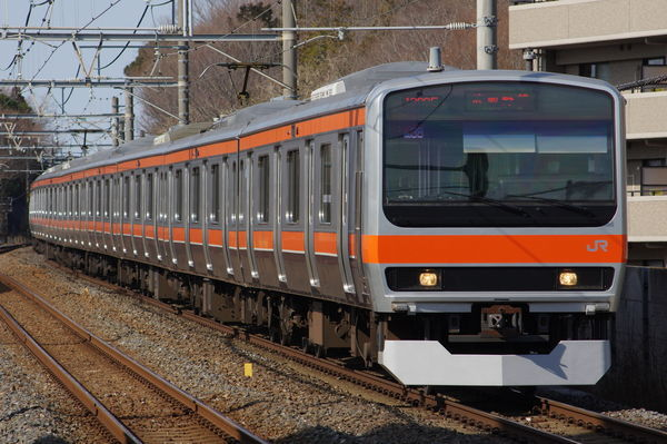 E231系MU38編成
