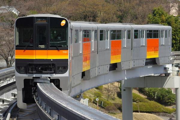 多摩モノレール1101編成