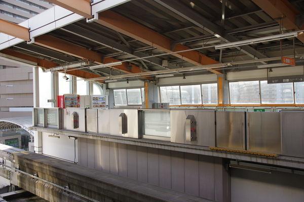 多摩センター駅のホーム先端