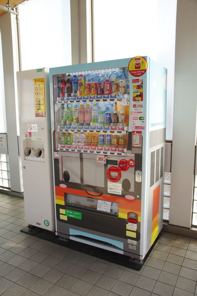 多摩モノレール1000系風自動販売機