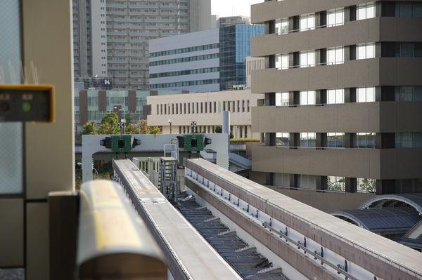 多摩センター駅の線路終端部