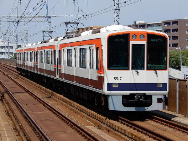 阪神5500系のウソ電(4両全て上信250形旧色)