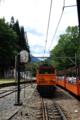 トロッコ列車からD40