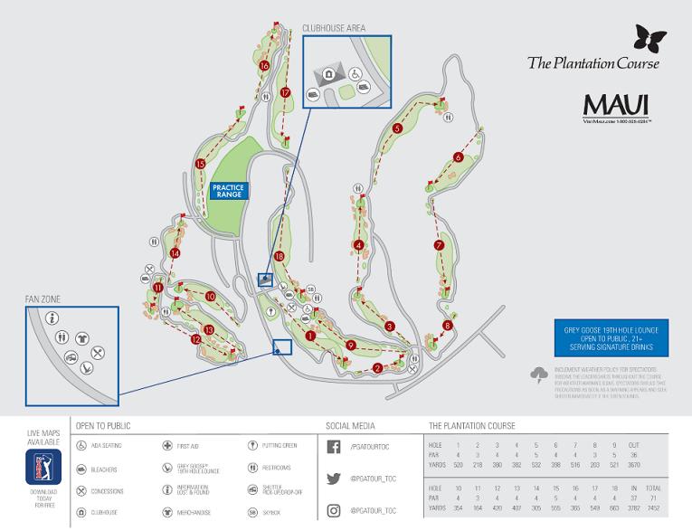 カパルアリゾート コースマップ