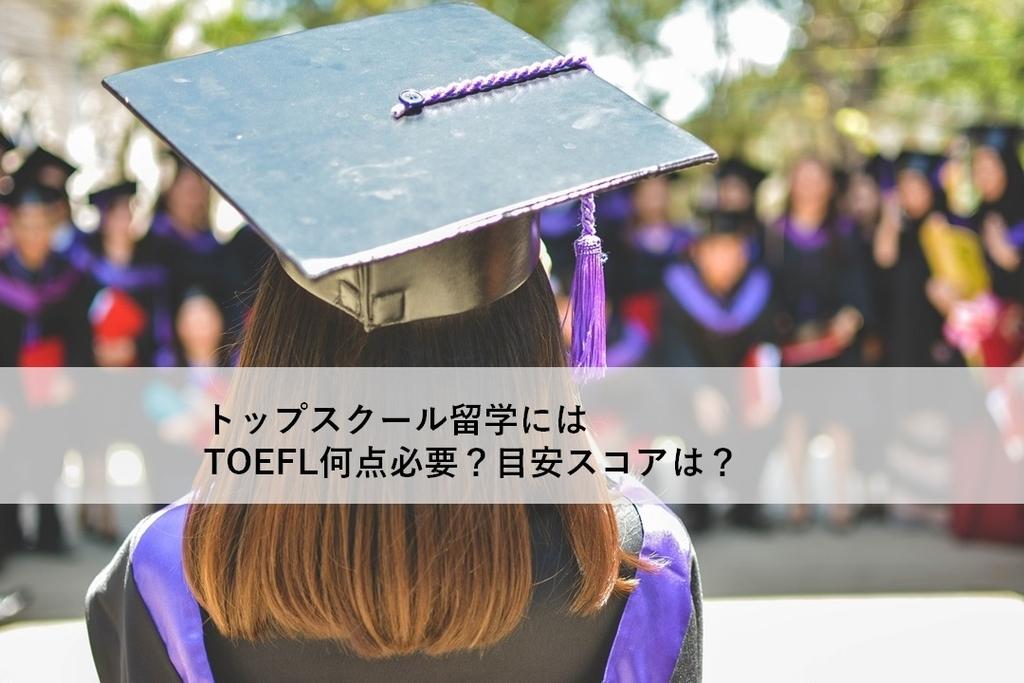 留学に必要なTOEFL目安スコアアイキャッチ