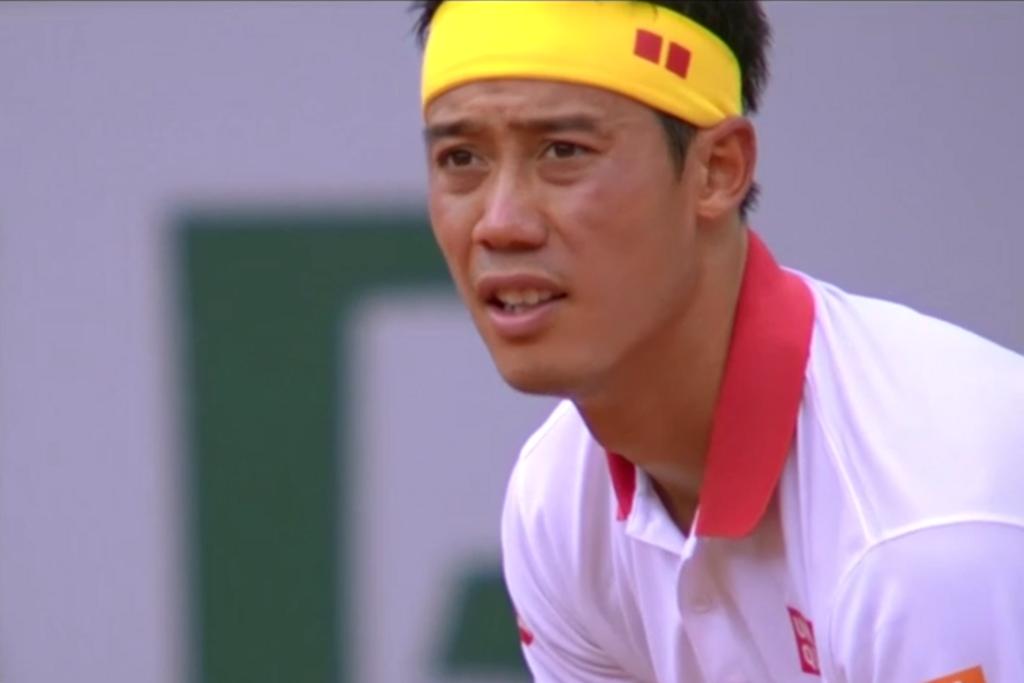 テニス全仏オープンローラン・ギャロス2回戦の錦織圭