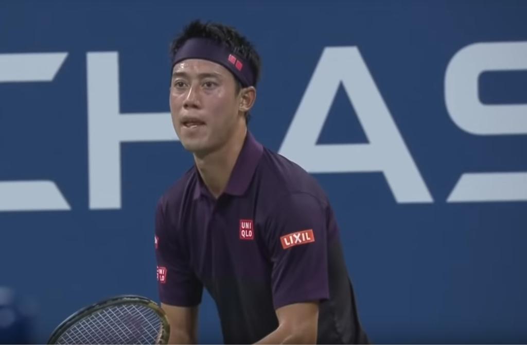 全米オープンテニス2018の錦織圭