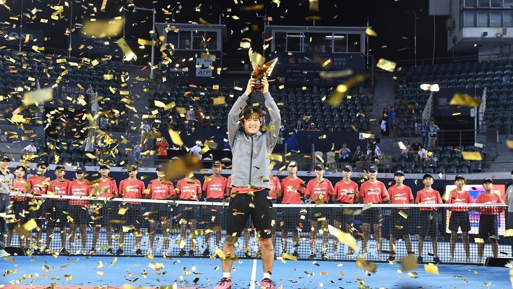 深センオープンで初優勝した西岡良仁